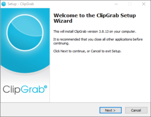 ClipGrab Install