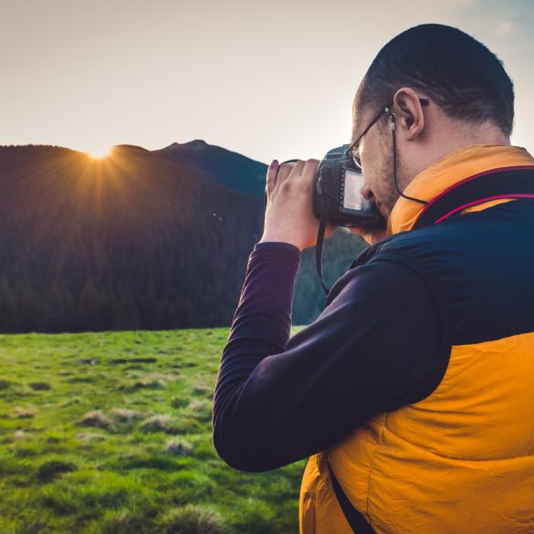 Nature Photographer Mountains